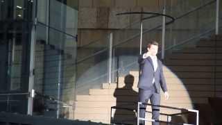 2013年8月28日 六本木ヒルズ内 イベント広場にて行われた『ウルヴァリン...