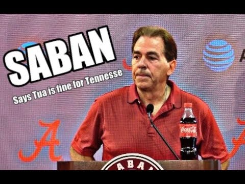 Alabama Crimson Tide Football: Nick Saban on Tua Tagovailoa status and Raekwon Davis' actions