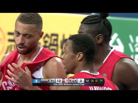 3D Global Sports Canada vs Lithuania (39th William Jones Cup)