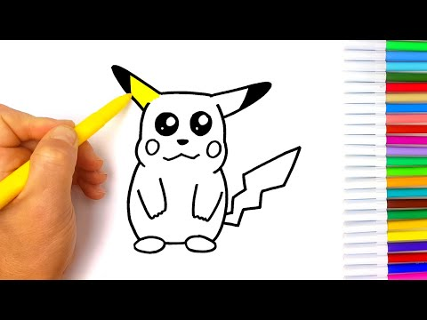 disegno-pikachu- -disegni-facili-per-bambini