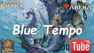 Magic Arena MTGA: Mono Blue Tempo Deck #2 - Guilds of Ravnica - Standard Contructed