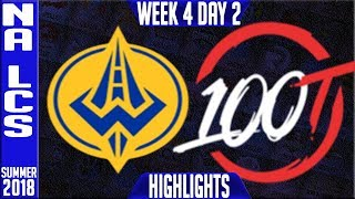 Video GGS vs 100 HIGHLIGHTS | NA LCS Summer 2018 Week 4 Day 5 | Golden Guardians vs 100 Thieves download MP3, 3GP, MP4, WEBM, AVI, FLV Juli 2018