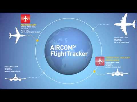 AIRCOM FlightTracker - Real-time flight monitoring and tracking