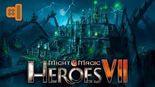 Прохождение Might and Magic Heroes 7 сюжет 1080p60fps 1- Истребление нежити