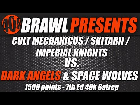 40kBrawl! UKGT Practice - AdMech War Convocation vs Ravenwing/Space Wolf Thunderdome