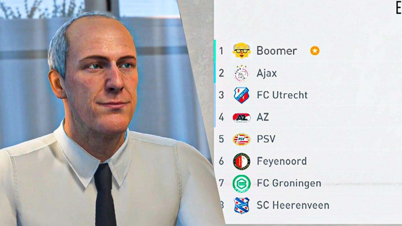 Kan je de Eredivisie winnen met enkel BOOMERS