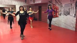 Урок восточного танца в школе танцев 5Life!