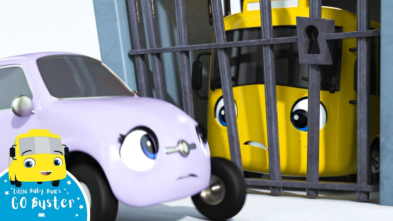 Buster Goes to Jail | Go Buster | BRAND NEW | Cartoons For Kids | Little Baby Bum
