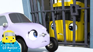 Buster Goes to Jail | Go Buster | ABCs and 123s | Cartoons For Kids | Little Baby Bum