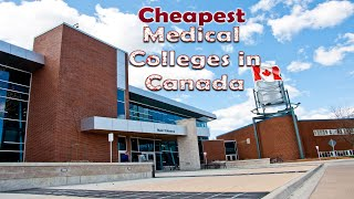 Low Cost Medical Colleges in Canada For International Students
