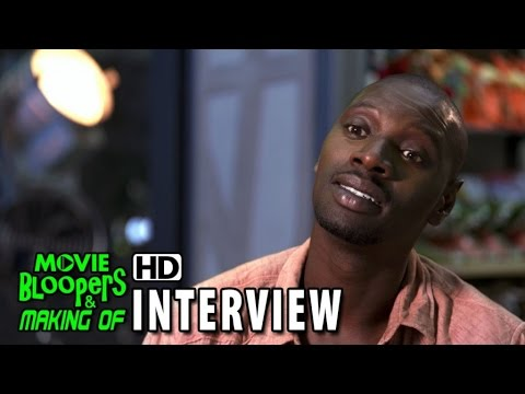 Jurassic World (2015) Behind the Scenes Movie Interview - Omar Sy 'Barry'