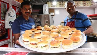 Veg Cheese Burger (Mc Donald Style) | Double Cheese burger | Veggie Burger Recipe