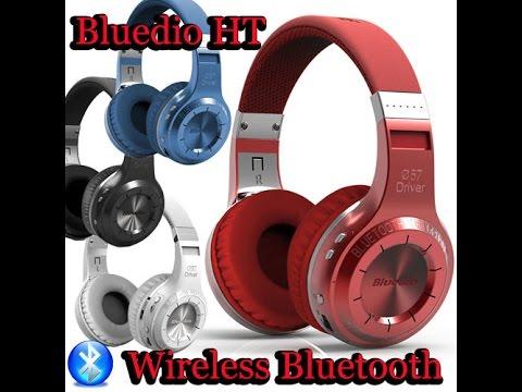 обзоринструкция беспроводные Bluetooth наушники Bluedio H Turbin