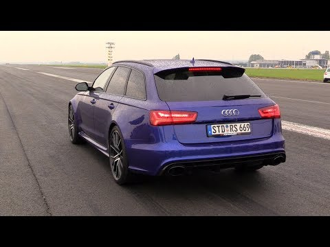 730HP Audi RS6 C7 Avant PP-Performance – FAST Accelerations!