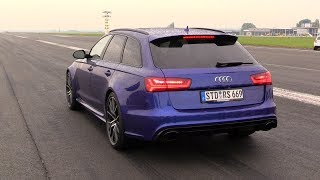 730HP Audi RS6 C7 Avant PP-Performance - FAST Accelerations!