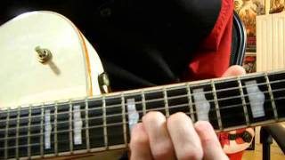 "How to play ""Jingle Bell Rock"" guitar intro, solo and outro.."