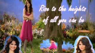 Selena Gomez Fly To Your Heart [Karaoke / Instrumental]
