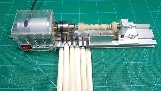 Test Thử MÁY TIỆN MINI Motor 775