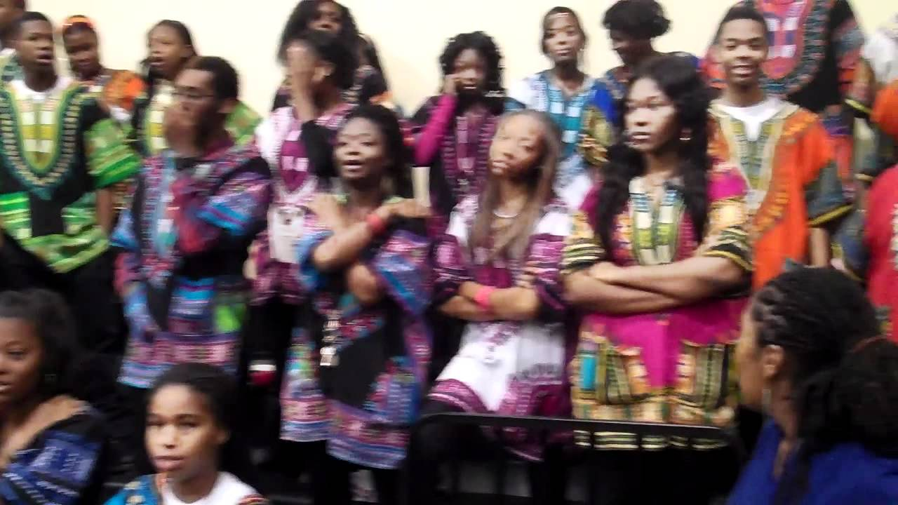 Imhotep Charter High School Affirmation - YouTube