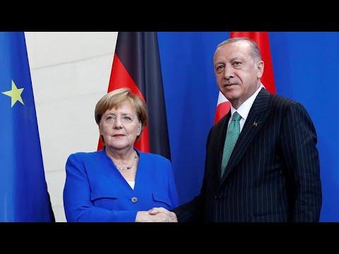 Меркель-Эрдоган: разногласия сохраняются