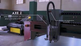 CNC ROUTER IHB INDUTRIES ALGERIE / الجزائر
