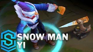 Snow Man Yi Skin Spotlight - Pre-Release - League of Legends
