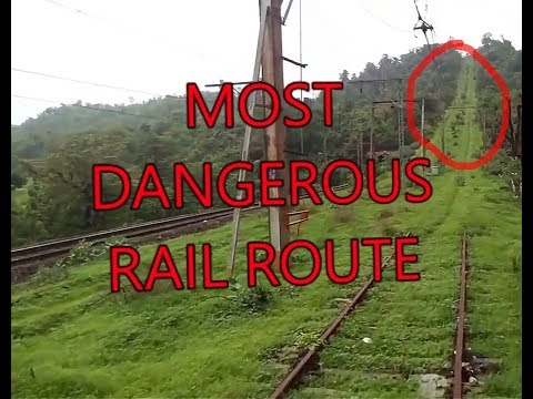 KASARA IGATPURI RAIL SECTION MOST DANGEROUS RAIL ROUTE