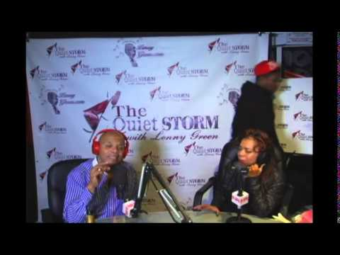 Valerie Simpson in the  Quiet Storm with Lenny Green