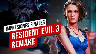 Vídeo impresiones: Resident Evil 3 desatado