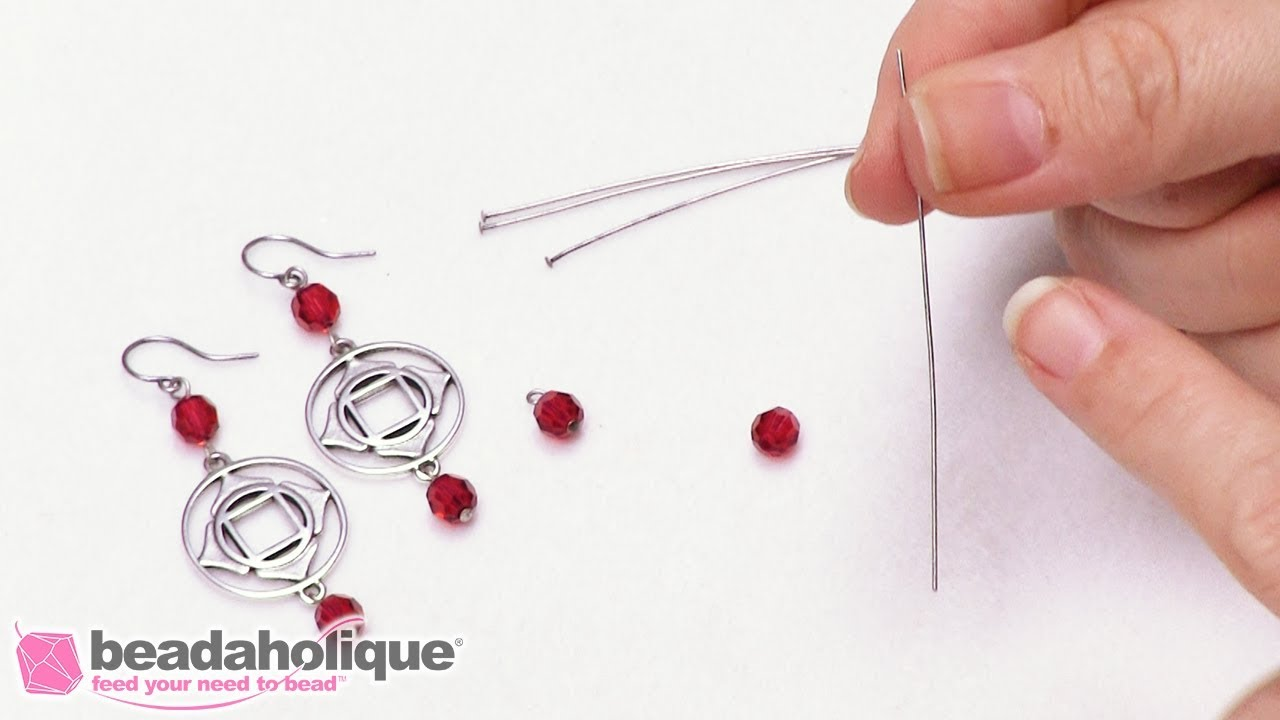 Quick Tip: How to Use a Long Head Pin to Make an Eye Pin with a ...