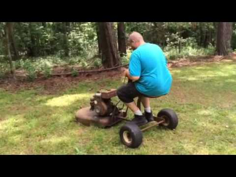 Antique Snapping Turtle Self Propelled Quot Pull Quot Mower Youtube