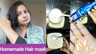 Hair mask for getting soft smooth n shiny hair(At home)|Alwaysprettyuseful by PriyaChavaan