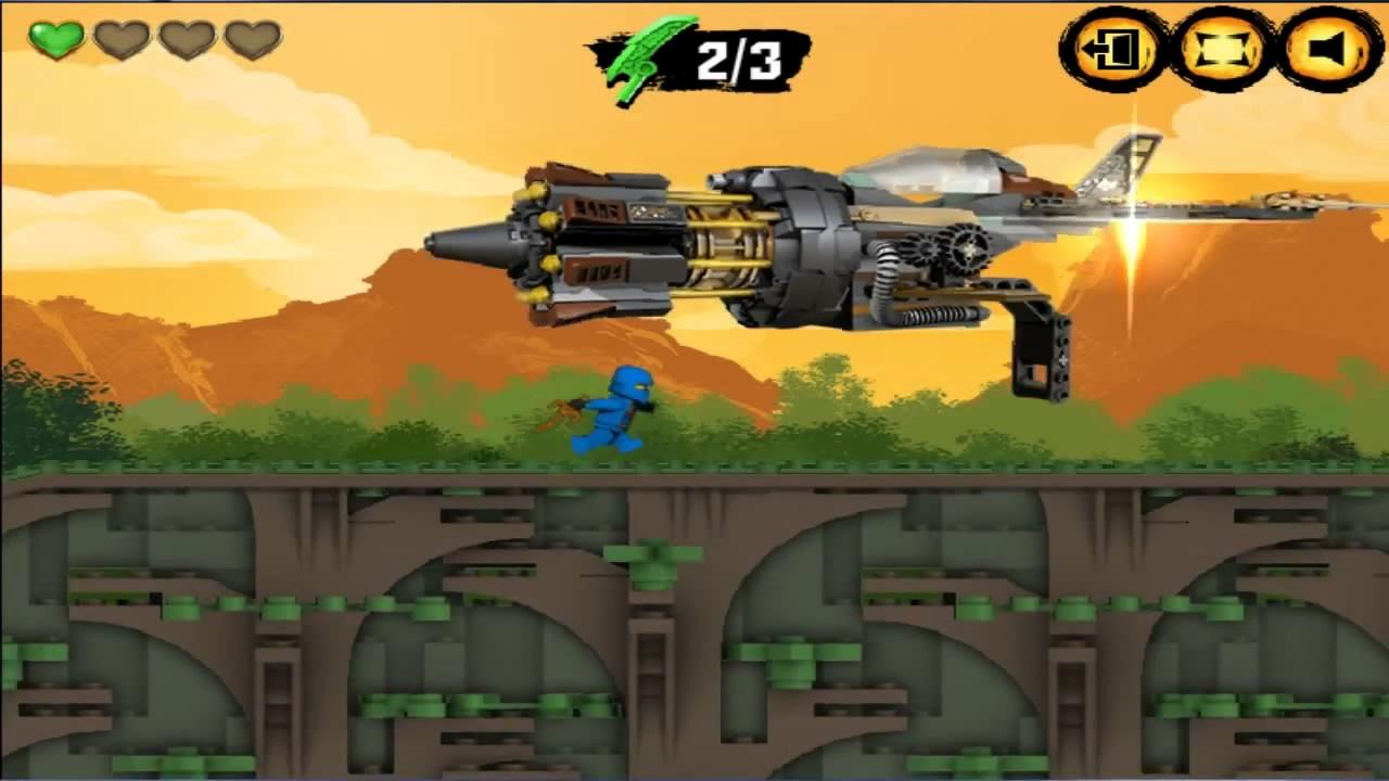 Lego Ninjago Rush Free Online Game Play Preview Short ...