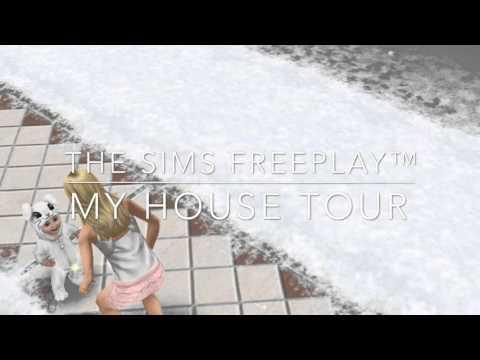 Sims Freeplay Urban Furniture House!!