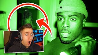 MINIMINTER REACTS TO TGF LOCKED OVERNIGHT IN UK'S OLDEST HAUNTED PUB!!