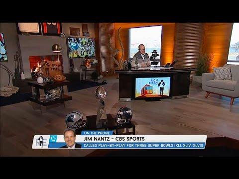 CBS Sports Broadcaster Jim Nantz on Calling Super Bowl 50 & More - 12/2/16