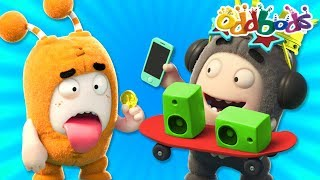 Oddbods - TECH TRENDY | NEW Full Episodes | Funny Cartoons