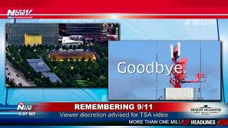 REMEMBERING 9/11: Hard to watch video shared by TSA - Viewer discretion advised (FNN)