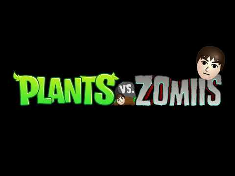 I put Mii music on Plants vs. Zombie's theme