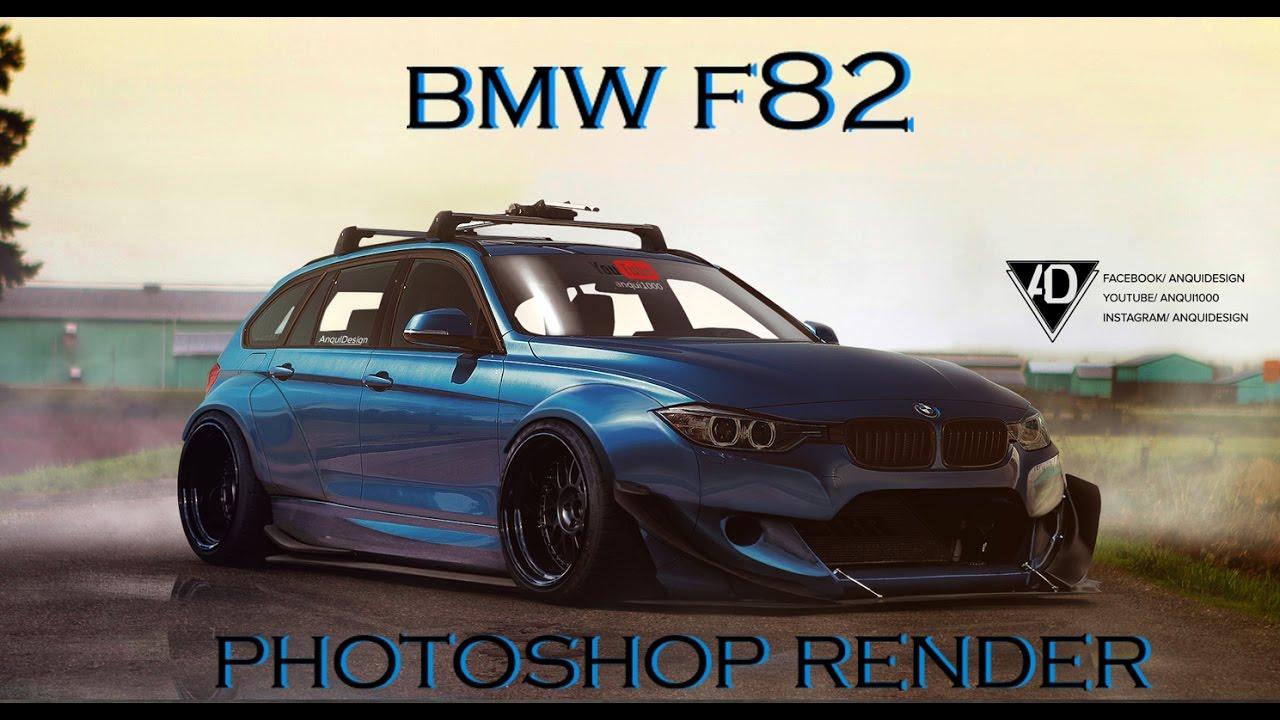 BMW F80 Rocket Bunny Kit Photoshop Render Free Download Video MP4