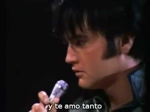 Love me tender, de Elvis Presley, con subtítulos en español