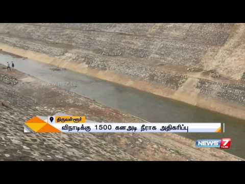 Andhra releases more water from Kandaleru dam after TN CM