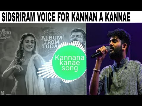 Viswasam Kannana Kanne Song   Sidsriram   D.Imman