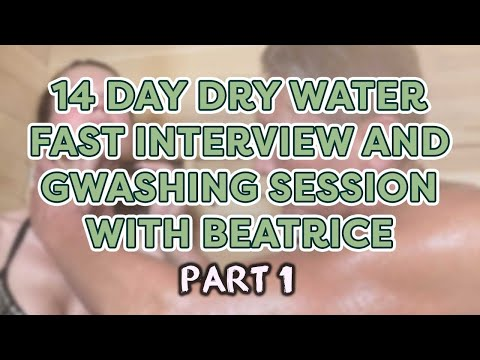 14 Day Water Fast Interview with Beatrice Part 1 | Dr. Robert Cassar