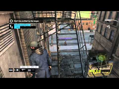 Watch Dogs [PC] Online Hacking - Roof spot in Parker Square