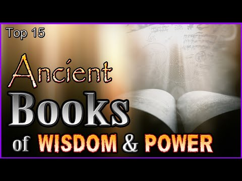 Top 15 Ancient Books Of Wisdom & Power