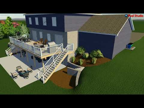 Brookfield, WI Landscape Design Concept Video R2