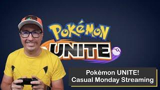Pokémon UNITE on Nintendo Switch, Streaming on a Monday