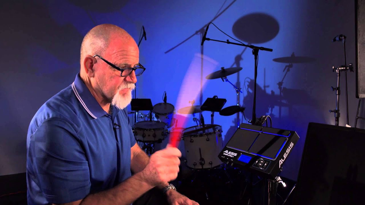 Alesis SamplePad 4 Overview - YouTube