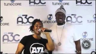 young chizz interview with atlhiphop at the 11th annual a3c festival in atlanta ga
